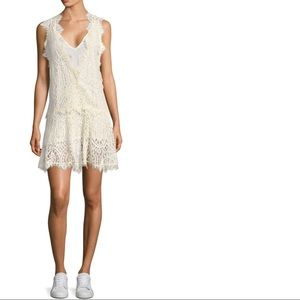 FREE PEOPLE Heart in two Lace Minidress NWT